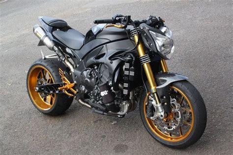 Yamaha Motorrad Turbo by Yamaha R1 Turbo Charged Streetfighter Geile Bikes