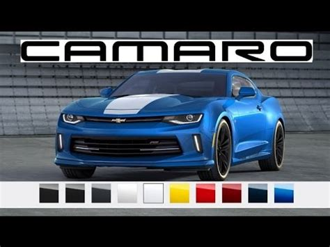 camaro colors 2016 camaro paint colors