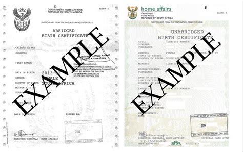 Birth certificate fake template 7 birth certificate templates south africas new child travel laws explained yelopaper Choice Image