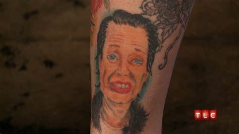steve buscemi tattoo a flat steve buscemi america s worst tattoos
