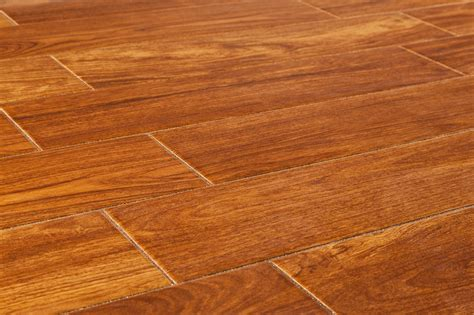 Porcelain Wood Tile Flooring Salerno Ceramic Tile American Wood Series Copper Oak 6 Quot X24 Quot