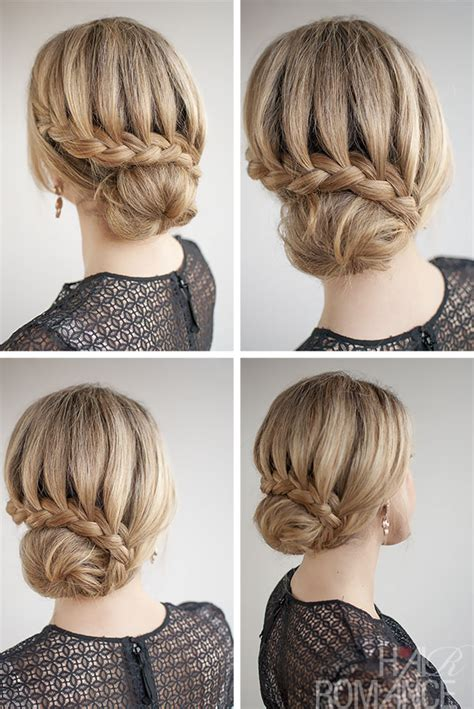 prom hairstyles lace 20 chic bun hairstyles we love braided bun hairstyles