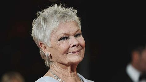 judi dench haircut point cut my mom is recovering from chemo she has a full head of