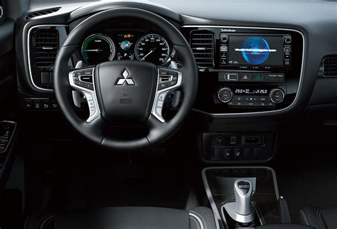 outlander mitsubishi inside refreshed mitsubishi outlander phev to be presented at the