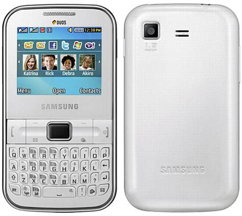 Samsung Wifi Gt S5233w samsung ch t 322 wi fi pictures official photos
