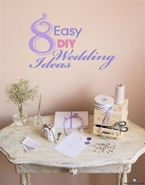 8 Honeymoon Ideas by 8 Easy Diy Wedding Ideas Confetti Co Uk
