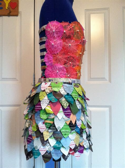 ls made from recycled materials how to make a dress made out of recycled materials www