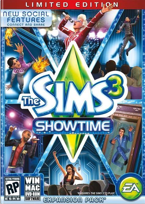 de sims 3 showtime gamersnet