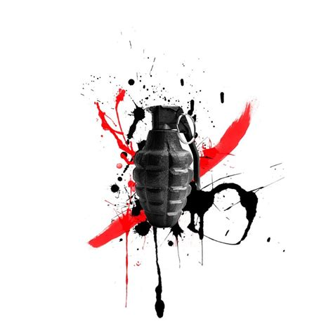 trash polka grenade by dazzbishop on deviantart