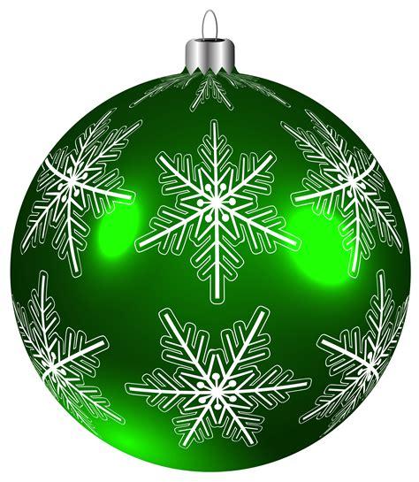 Christmas Tree Decorations Printable Beautiful Green Christmas Ball Png Clip Art Image