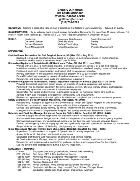 Resume Examples For Objective by Hittman Resume Bmet