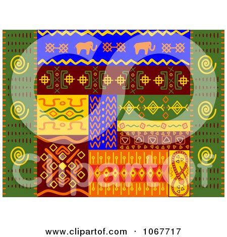 Ethnic Set 2 by Clipart Ethnic Patterns Set 2 Royalty Free Vector
