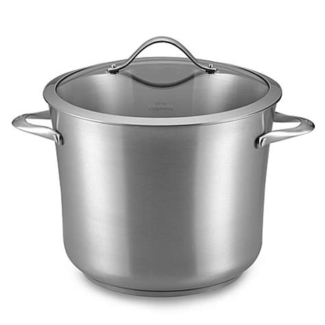Of Steel 12 calphalon 174 contemporary stainless steel 12 quart stockpot