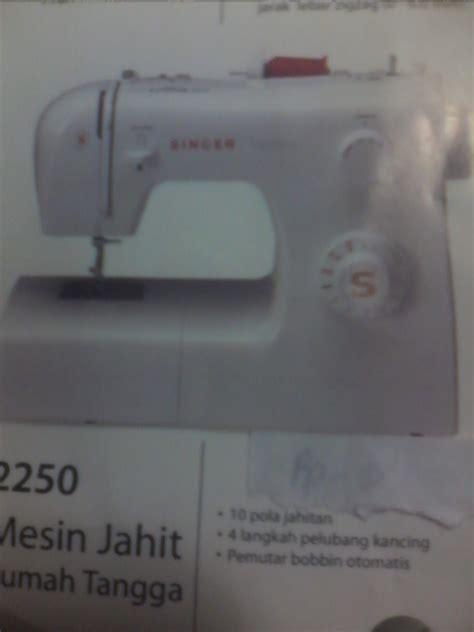 Singer Mesin Jahit Multifungsi 2259 Traditional segala tipe mesin jahit singer jual mesin jahit singer 1408 promise portable service jual
