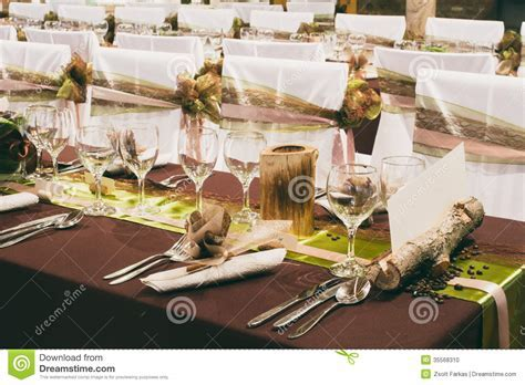 Unique Wedding Table Decorations Stock Photo   Image of