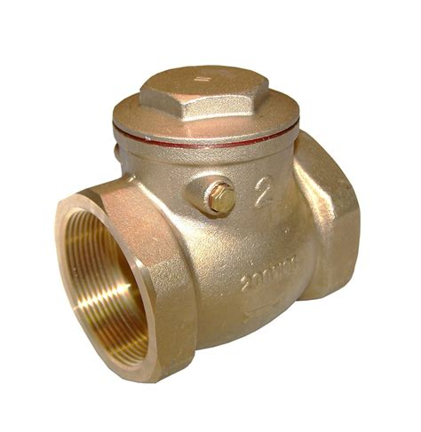 1 inch swing check valve galleon american valve g31 lead free brass swing check