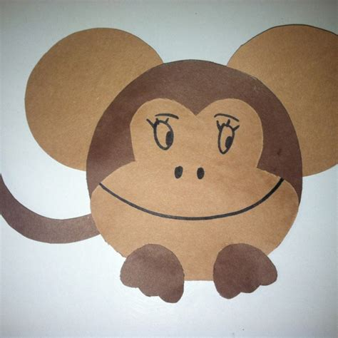 monkey craft monkey craft crafts monkey crafts monkey