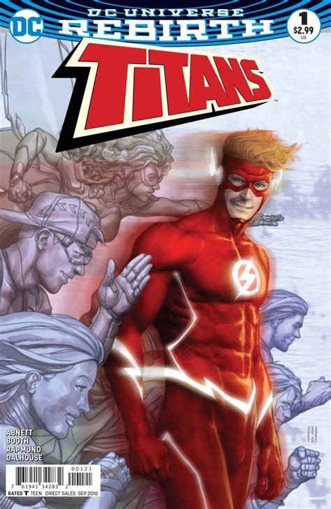 dec160376 titans tp vol 01 the return of titans 1 the return of wally west part one run for your life issue