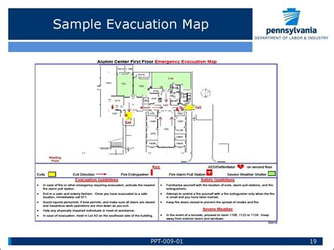 21 Images Of Evacuation Powerpoint Template Kpopped Com Emergency Evacuation Route Template