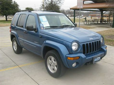 2004 Jeep Liberty Limited Purchase Used 2004 Jeep Liberty Limited Sport Utility 4