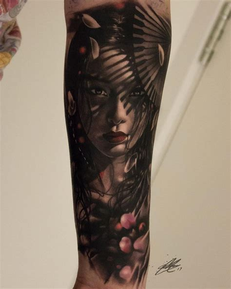 tattoo orientali geisha 1 879 likes 38 comments gary mossman garymossman on