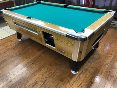 used valley pool table table 060117 valley used coin operated pool table used