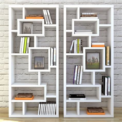 asymmetrical cube bookcase with shelves 17 best images about dens libraries on pinterest