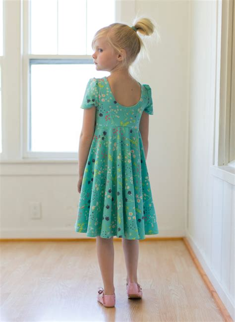 dress pattern heart back adelyn s scoop back knit woven tunic and dress pdf