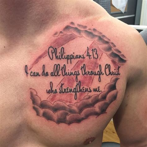 bible verse tattoo on hand bible scriptures tattoos chest www pixshark com images