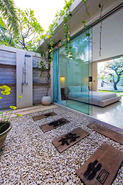 doccia in giardino doccia da giardino da sogno 20 idee per creare un angolo