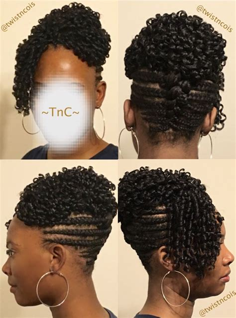 Soft Pin Up Hairstyles by Braid Updo With Soft Dread Crochetbraids Crochet Braids