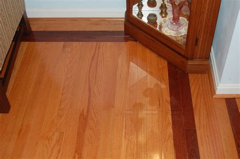 oak and cherry hardwood flooring bel air construction maryland baltimore remodeling
