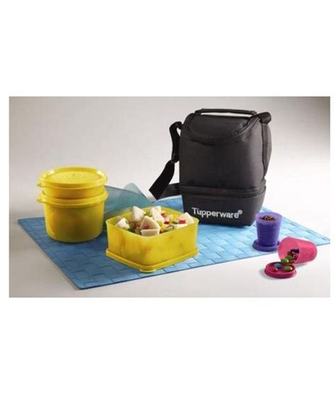 Tupperware Lunch Box trendy lunch bags india style guru fashion