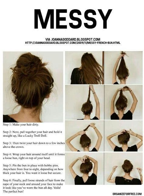 How Do You Do A Messy Bun | now you knowww how to do the perfect messy bun now you