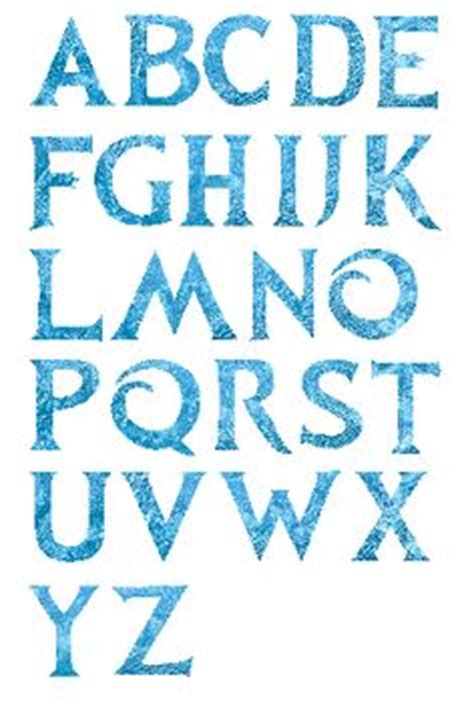 printable frozen font 1000 images about reine des neiges frozen on pinterest