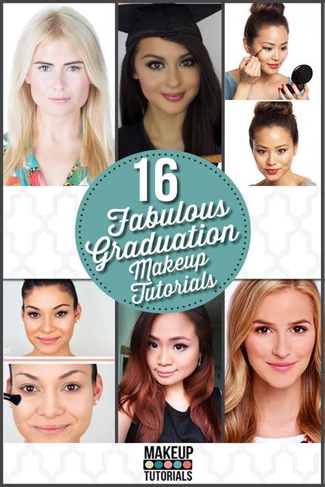 tutorial makeup graduation 16 easy pretty graduation makeup tutorials