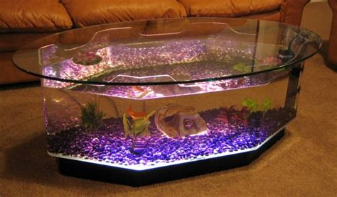 new coffee table aquarium octagon fish tank or