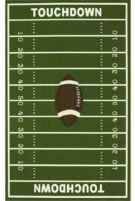 like this rug for football room maybe room ideas