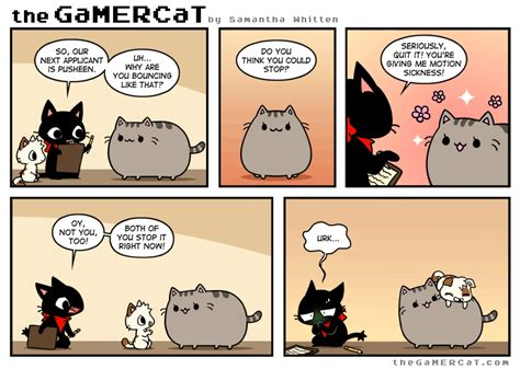 motions of the ocean comic bouncer this has to be one of my favorite gamercat comics