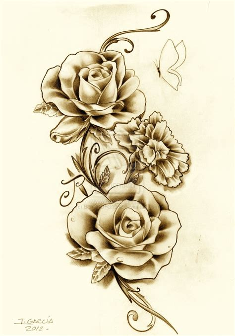 best tattoo flower designs flowers best images design for and