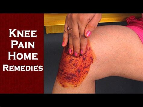 knee relief from home remedies how to get knee