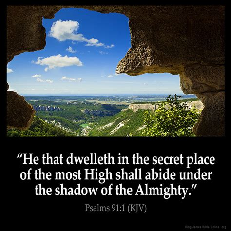 the secret place of the most high reflections of a ã s unfailing books psalms 91 1 inspirational image