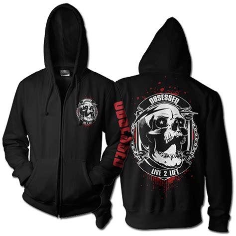 design gym hoodie t shirt design for robbie turner by black planet design