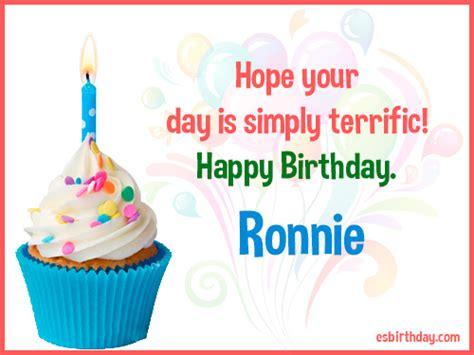 happy birthday ronnie happy birthday images