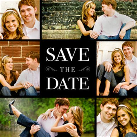 make your own save the date cards free save the date cards square by mixbook
