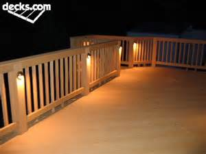 deck lighting ideas these would be fun on our new deck new house pinterest