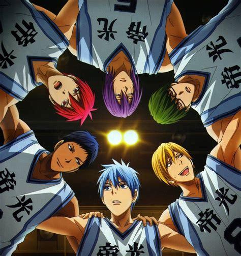 Kaos Anime Kuroko No Basket un as en la rese 241 a anime kuroko no basket t 1 2