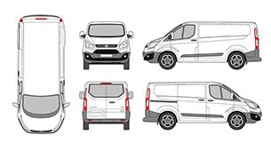 Mr Clipart Free Vehicle Wrap Templates
