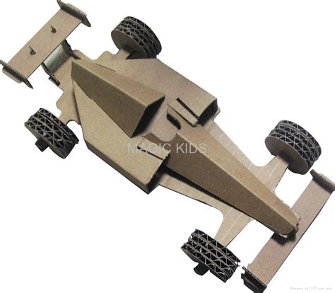 How To Make A F1 Car Out Of Paper - f1 racing car model promotion 3d folding toys folding