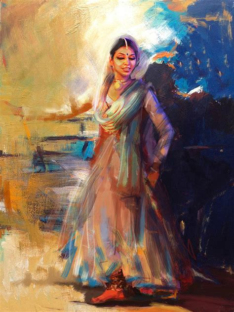biography of indian classical artist classical dance art 5 painting by maryam mughal